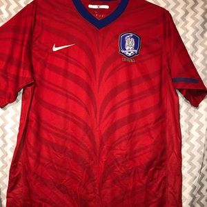 Nike Korea Soccer Jersey with animal stripes